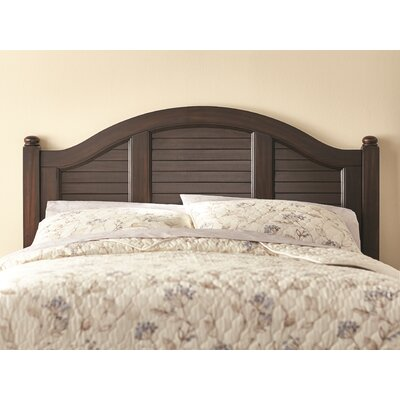Joel Panel Headboard Finish: Espresso, Size: Queen
