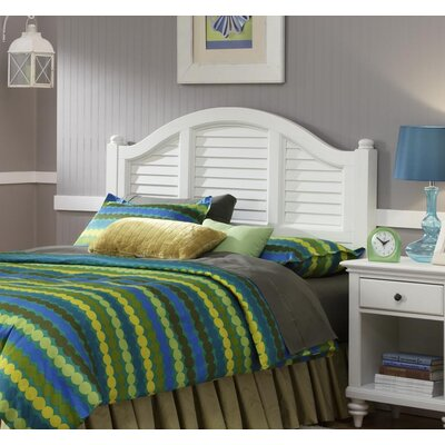 Joel Panel Headboard Color: Brushed White, Size: King