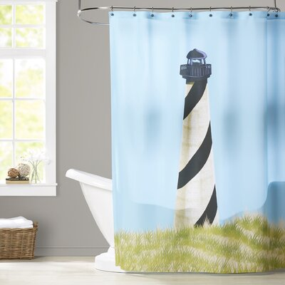 Hancock OuterBanks Geometric Print Shower Curtain