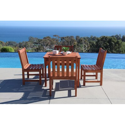 Monterry Classic 5 Piece Outdoor Dining Set