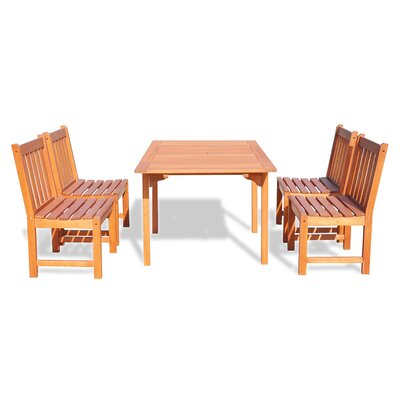 Monterry Classic 5 Piece Dining Set