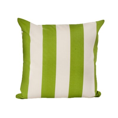 Merrill Outdoor Throw Pillow Color: Sage/Stark White