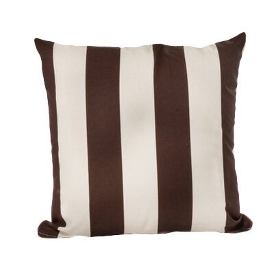Limestone Outdoor Throw Pillow Color: Brown/Stark White