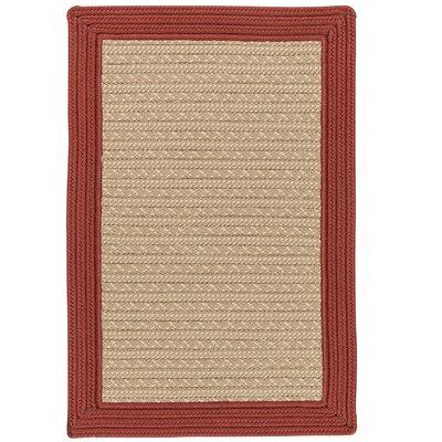 Dartmouth Hand-Woven Beige Indoor/Outdoor Area Rug Rug Size: 3 x 5