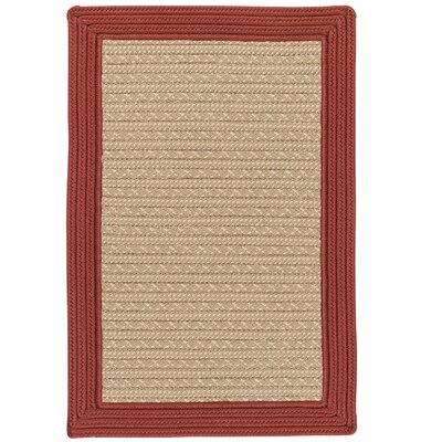 Dartmouth Hand-Woven Beige Indoor/Outdoor Area Rug Rug Size: 4 x 6