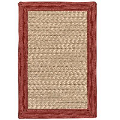 Dartmouth Hand-Woven Beige Indoor/Outdoor Area Rug Rug Size: 6 x 9