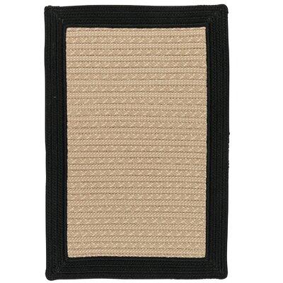 Dartmouth Hand-Woven Beige Indoor/Outdoor Area Rug Rug Size: 4 x 6