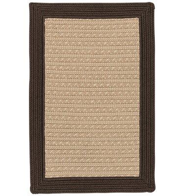 Dartmouth Hand-Woven Brown Indoor/Outdoor Area Rug Rug Size: 3 x 5