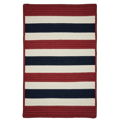 Andover Red Area Rug Rug Size: Square 10