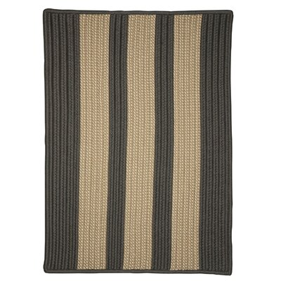 Seal Harbor Hand-Woven Gray Outdoor Area Rug Rug Size: Runner 2 x 6