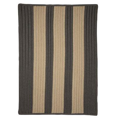 Seal Harbor Hand-Woven Gray Outdoor Area Rug Rug Size: 12 x 15