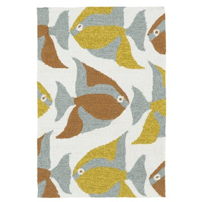 Sereno Handmade Abstract Indoor / Outdoor Area Rug Rug Size: 2' x 3'