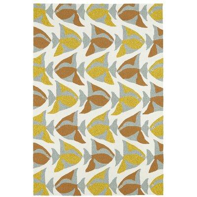 Sereno Handmade Abstract Indoor / Outdoor Area Rug Rug Size: Rectangle 5 x 76