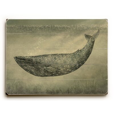 Floral Whale Graphic Art