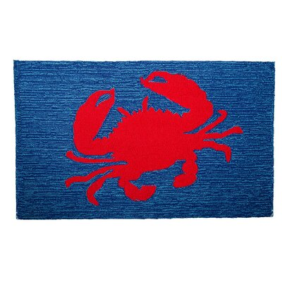 Arcadia Hand-Woven Blue Area Rug