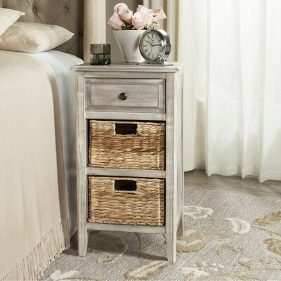 Small Point End Table Finish: Vintage White
