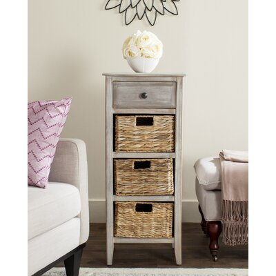Darwin End Table Finish: Vintage White