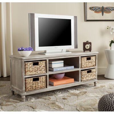 Spruce Head TV Stand Finish: Vintage White