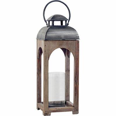 Wood Lantern Size: 10