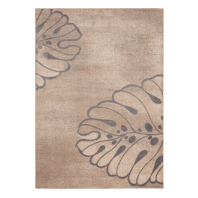 Southport Beige Area Rug Rug Size: 53 x 73