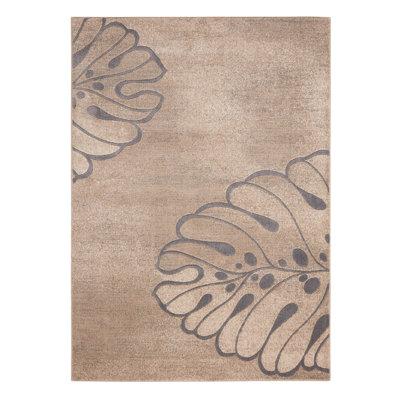 Brentford Beige Area Rug Rug Size: 93 x 129