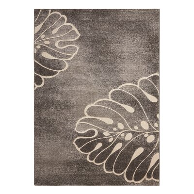 Southport Gray Area Rug Rug Size: 93 x 129