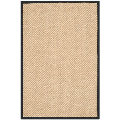 Hillsborough Maize / Black Area Rug Rug Size: 26 x 4