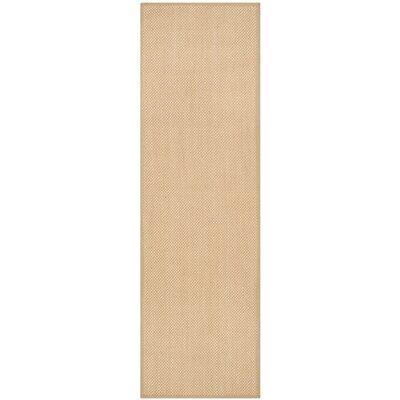 Hillsborough Maize / Linen Area Rug Rug Size: Runner 26 x 8