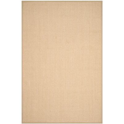 Hillsborough Maize / Linen Area Rug Rug Size: 6 x 9
