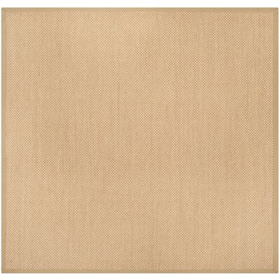 Hillsborough Maize / Linen Area Rug Rug Size: Square 6