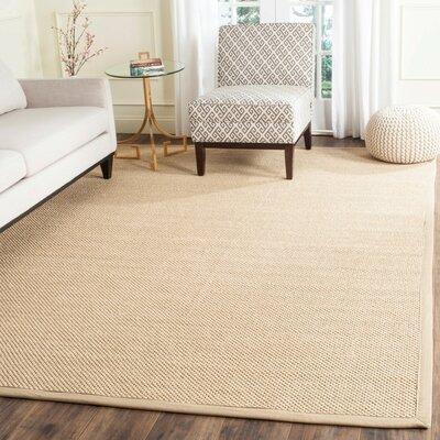Hillsborough Maize / Linen Area Rug Rug Size: 9 x 12