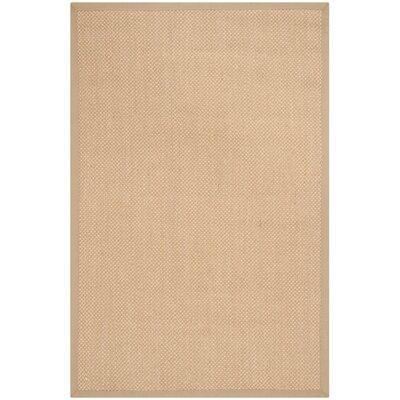 Hillsborough Maize / Linen Area Rug Rug Size: Runner 26 x 6
