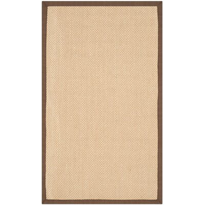Hillsborough Maize / Brown Area Rug Rug Size: 3 x 5