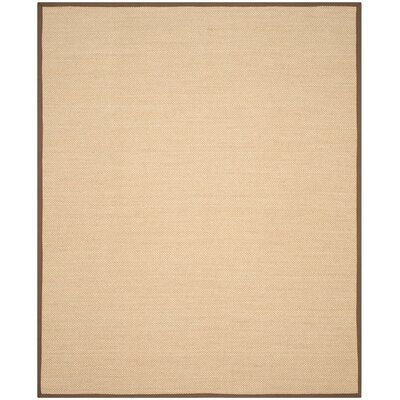Hillsborough Maize / Brown Area Rug Rug Size: 8 x 10