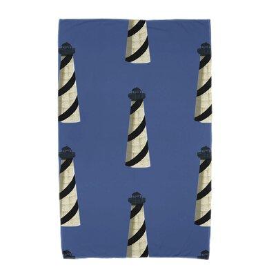 Hancock Beacon Beach Towel Color: Blue