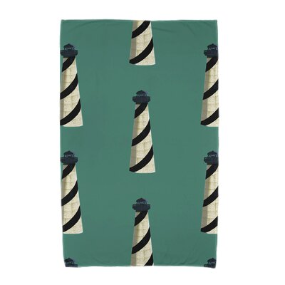 Hancock Beacon Beach Towel Color: Green
