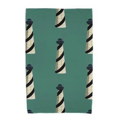 Hancock Beacon Beach Towel Color: Green