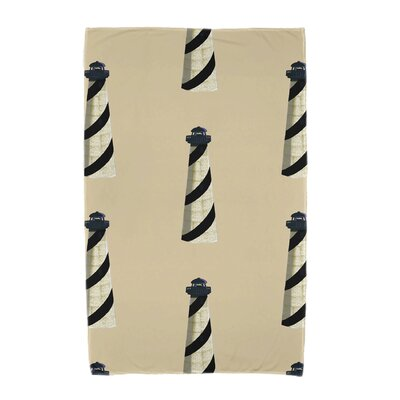 Hancock Beacon Beach Towel Color: Taupe/Beige