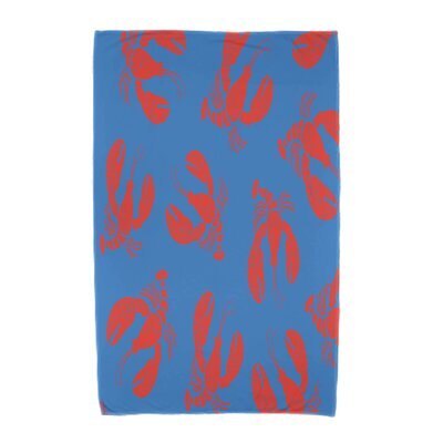 Bridgeport Lobster Fest Beach Towel Color: Blue