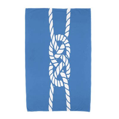 Hancock Carrick Bend Beach Towel Color: Blue