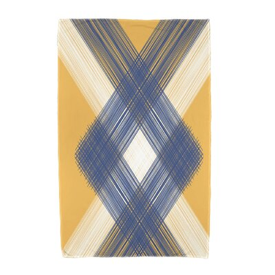 Hancock Geometric 1 Beach Towel Color: Yellow