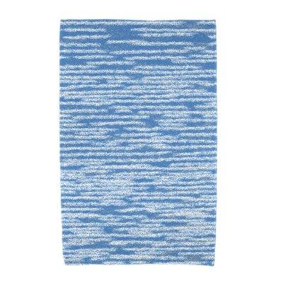 Hancock Stripe 2 Geometric Print Beach Towel Color: Blue