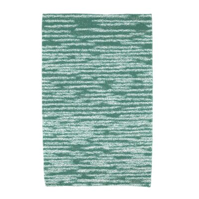Hancock Stripe 2 Geometric Print Beach Towel Color: Green