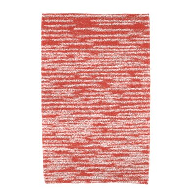 Hancock Stripe 2 Geometric Print Beach Towel Color: Orange