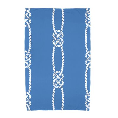 Hancock Tom Foolery Beach Towel Color: Blue