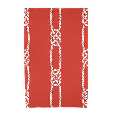Hancock Tom Foolery Beach Towel Color: Orange