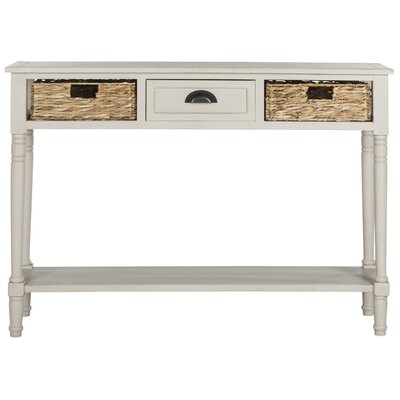 Deepwater Console Table Finish: Vintage Grey