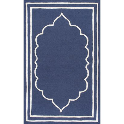 Mayhews Blue Area Rug Rug Size: 76 x 96