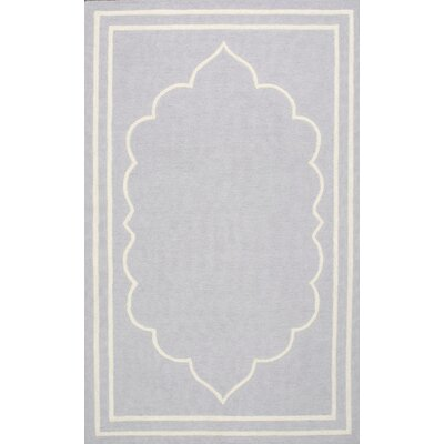 Mayhews Gray Area Rug Rug Size: 4 x 6