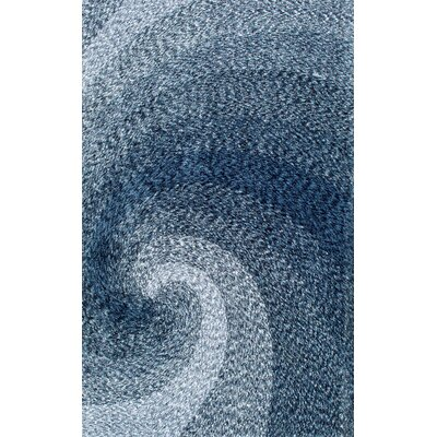 Peary Hand-Tufted Blue Area Rug Rug Size: 5 x 8